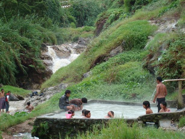 hot spring Pulosari