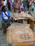 pameran lukisan kayu di festival