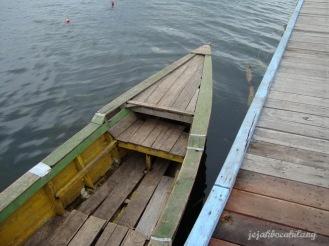 perahu kosong