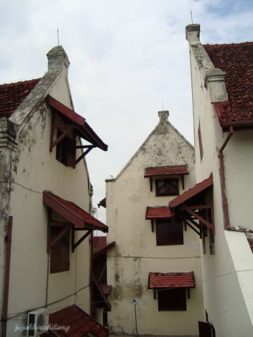 bangunan Fort Rotterdam yg masih terawat