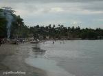 komplek TNI AL di pinggir pantai