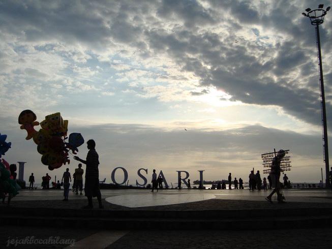 menjelang sunset Losari