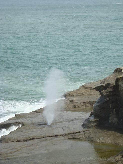 air mancur awet muda di Klayar