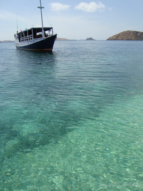 spot snorkeling pertama - Pulau Kambing