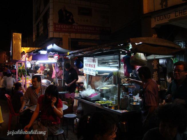 wisata kuliner malam Lebuh Chulia