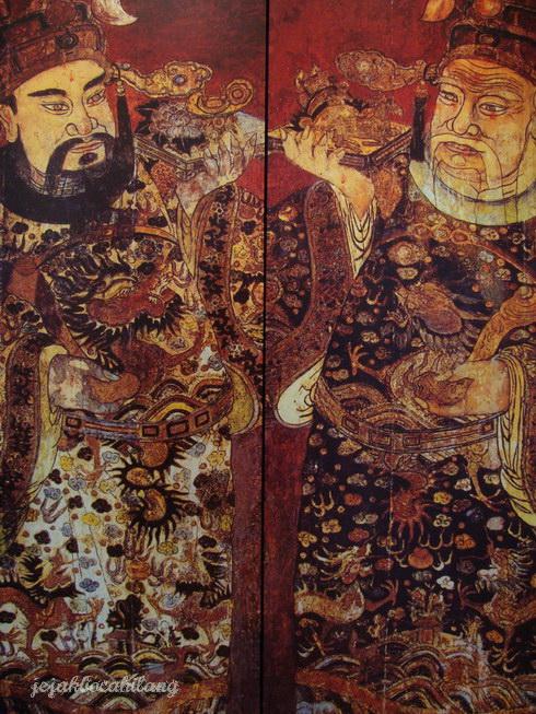 ornamen di dalam Khoo KongSi