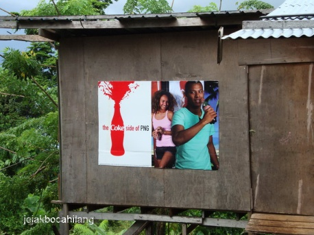 Coca Cola yang ternyata beken banget di PNG