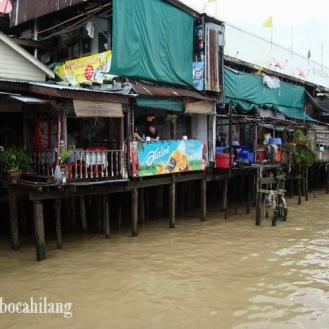sungai Chao Praya yang bersih...