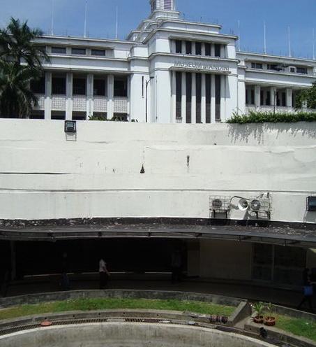 penampakan Museum Mandiri
