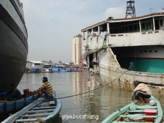 jajaran kapal nelayan