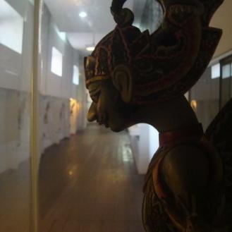 salah satu koleksi wayang di Museum Wayang