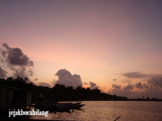 sunrise dari homestay