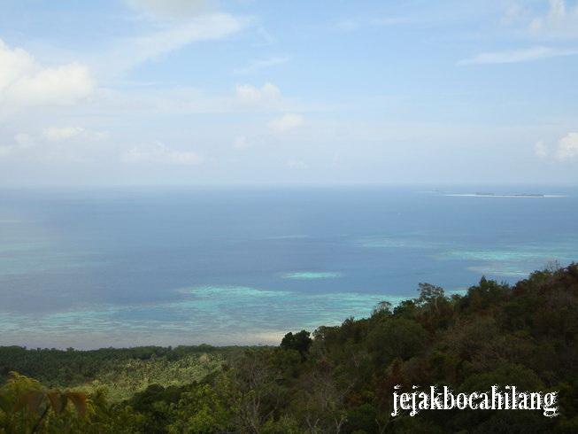 view dari Bukit Maming
