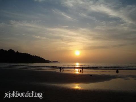 sunset Patong Beach