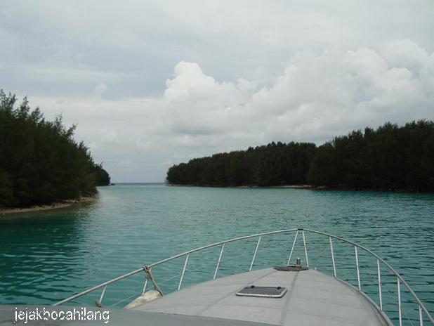 Pemandangan Pulau Air