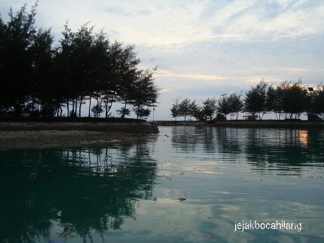 sunset Pulau Payung