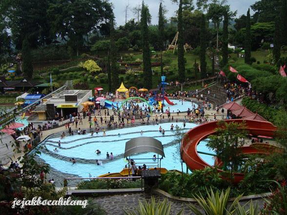 kolam renang air dingin Selekta