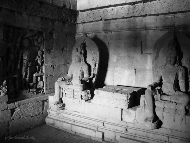 salah satu altar di Candi Plaosan Lor