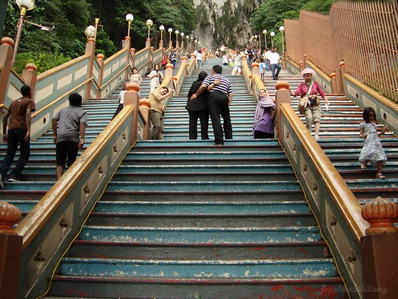 stairways in Batu Cave - Malaysia