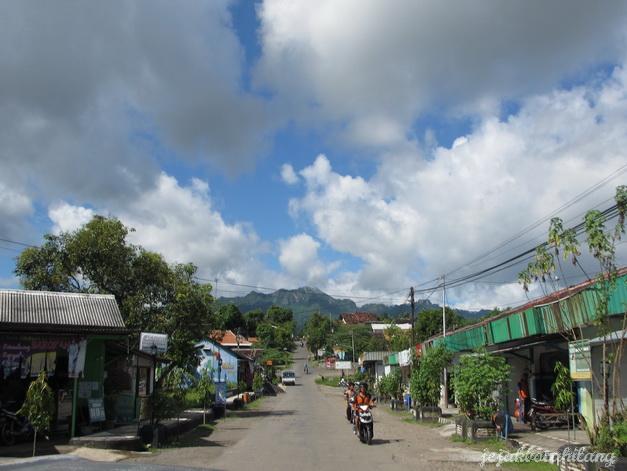 Desa Krisak menuju air terjun Melati