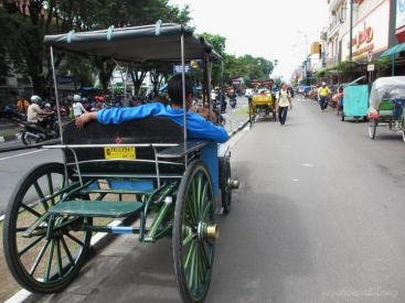 carriages in Malioboro