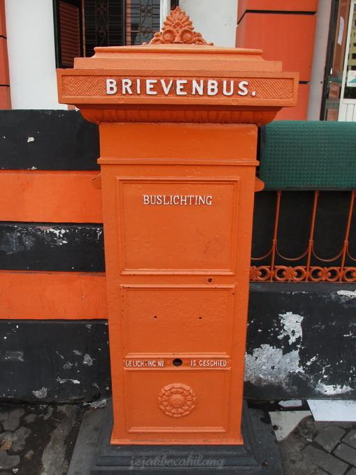 mailbox in post office Semarang