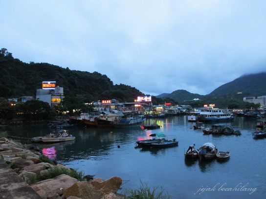 Lei Yue Mun - fishing village