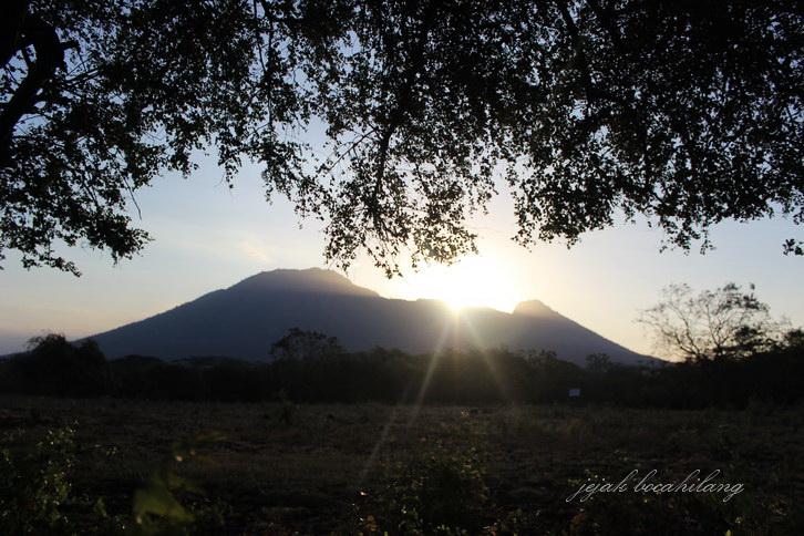 sunset savanah Bekol