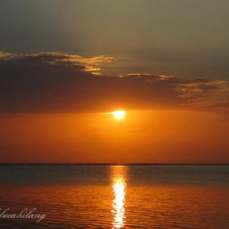 sunrise Pantai Bama
