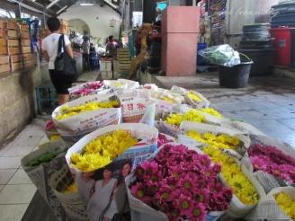 kios bunga Pasar Gede
