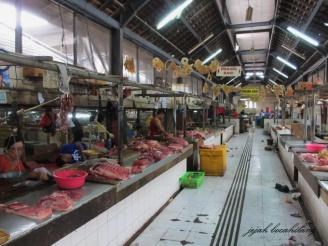 penjual daging Pasar Gede