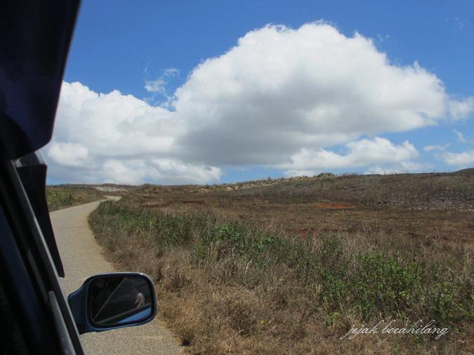 amazing road to Tarimbang