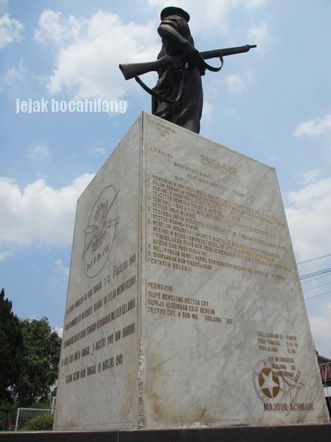 Monumen Achmadi di Dukuh Wonosido