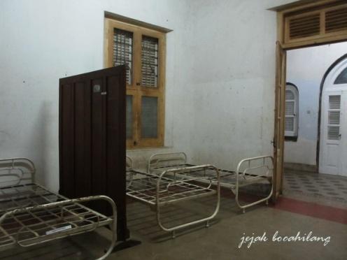 bekas kamar pasien