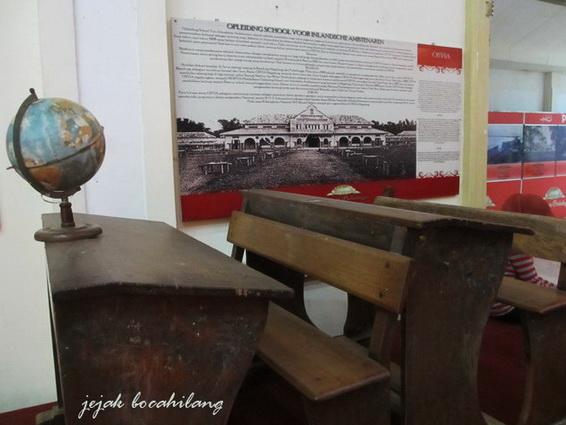 bekas bangku OSVIA ( Opleiding School Voor Inlandsche Ambtenaren )