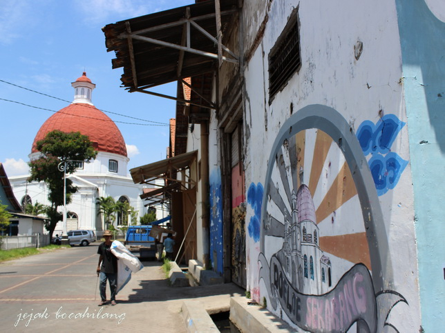 old town Semarang - Central Java