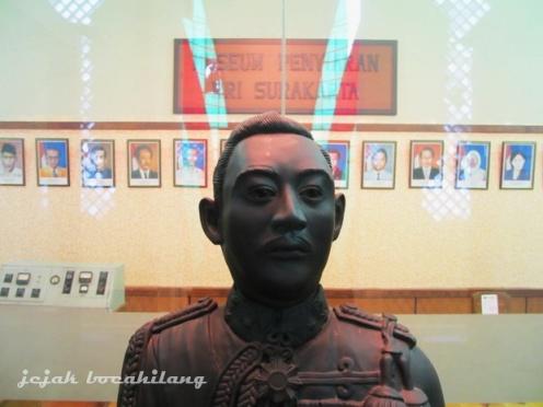 patung KGPAA Mangkunegoro VII di Museum Penyiaran RRI