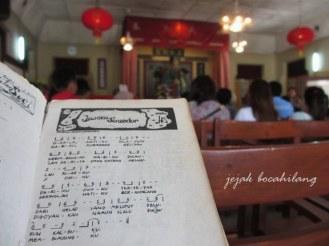 Tempat beribadah SD Tripusaka