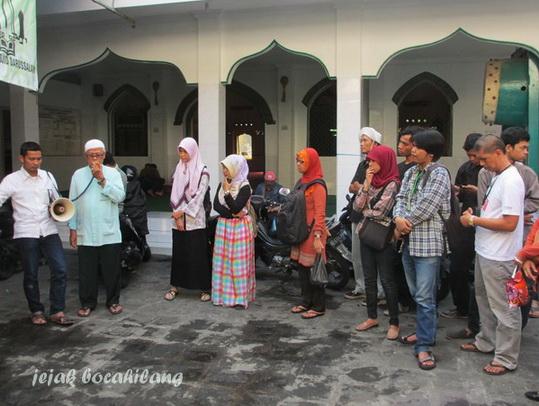 H Rosidi, takmir masjid