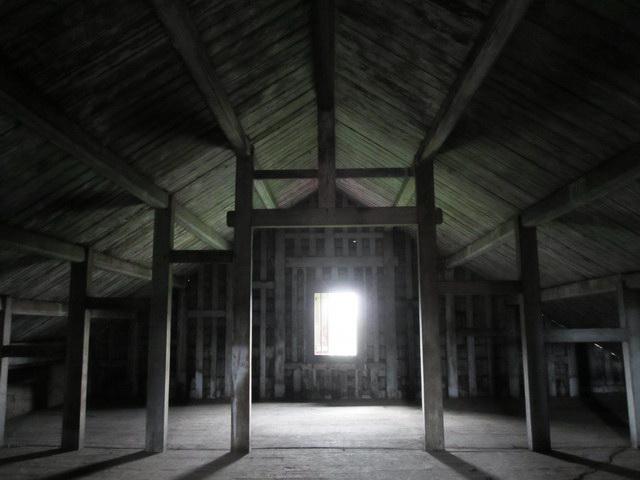 ruang penjemuran batik Lasem