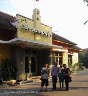 Lokananta with blogger