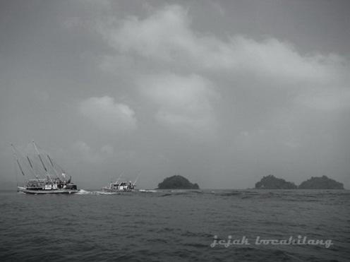Pulau Setiga, kata ABK Kapal