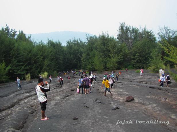 Gunung Anak Krakatau yang mendadak