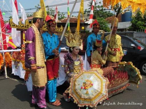 Lampung Culture Tapis Carnival