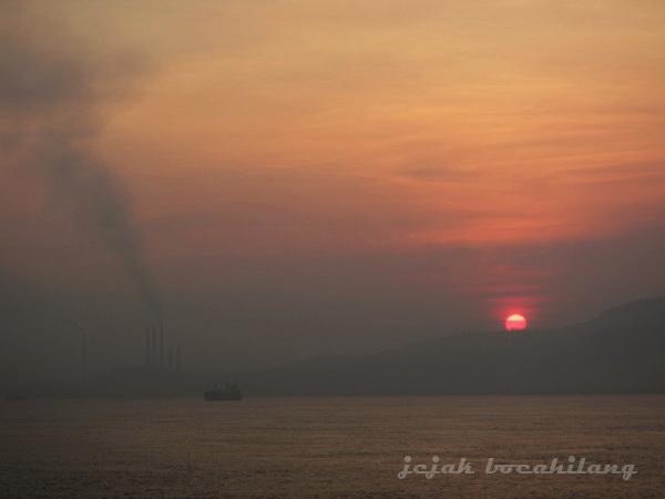 sunrise Pelabuhan Bakauheni