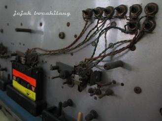 mesin perekam kaset di Museum Lokananta