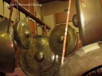 seperangkat gamelan peninggalan Pangeran Diponegoro di Lokananta
