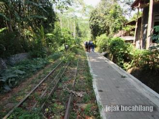 jalur rel gigi Dusun Krajan