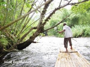bambu rafting Loksado