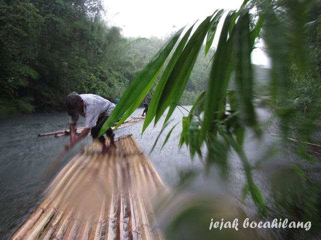 Balanting Paring ( bamboo rafting )